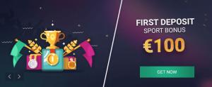 Ganhe até 100€ com o vbet bônus de boas-vindas em esporto
