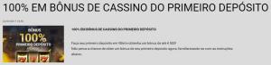 Garanta até 300€ extra num vbet bônus de 100% em casino